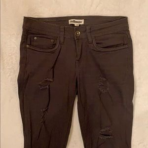 Size 5 army green skinny jeans
